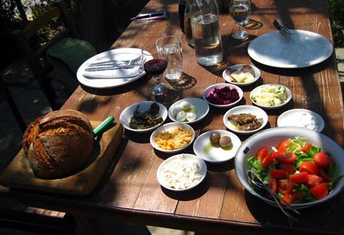 Local Cuisine feast – Meze