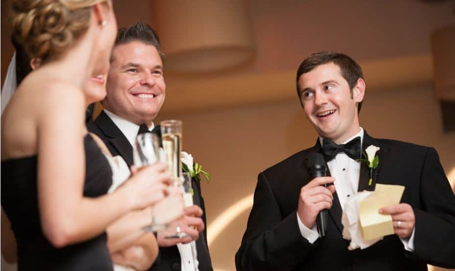 Top Ten Tips for Giving a Best Man Speech