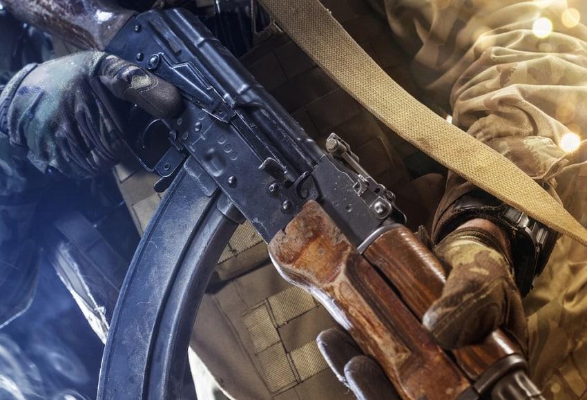 AK 47 Shooting – Outdoor