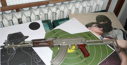 AK 47 in Krakow