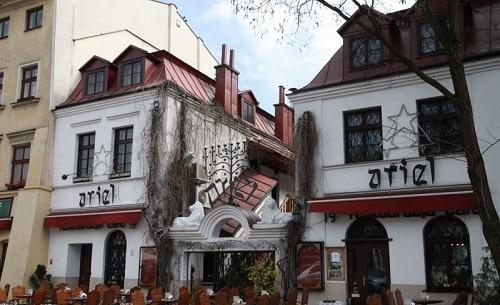 Jewish quarter in Krakow