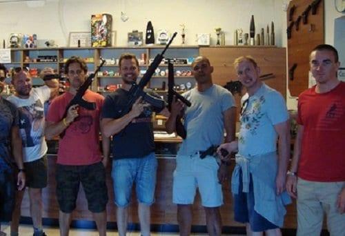 Gun Shooting Combo – 51 rounds