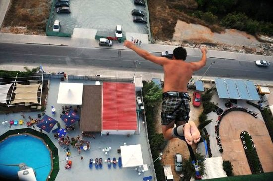 Bungee jumping Ayia Napa