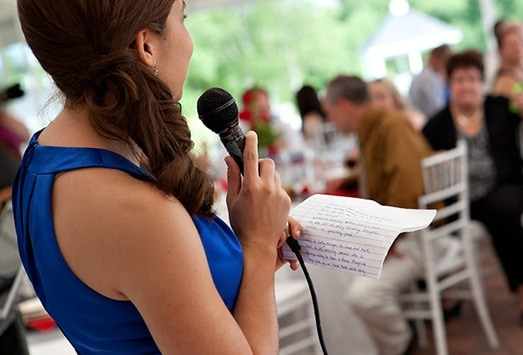 The do's and dont's of making a Maid of Honour speech