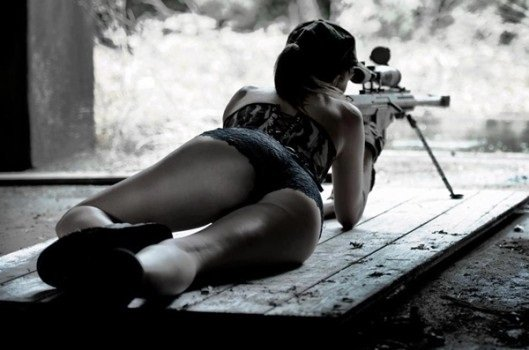 Sniper and AK47 – Bonding