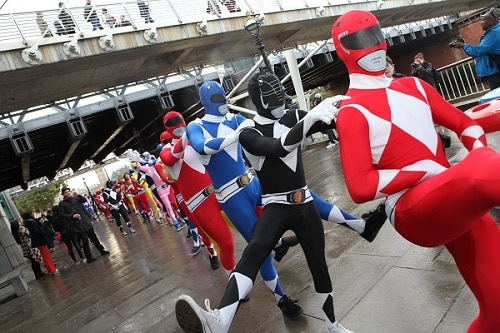 Stag do costumes - Power Rangers