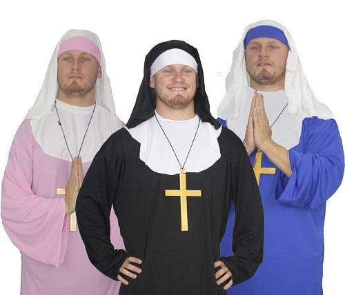 Stag do costumes - Nuns