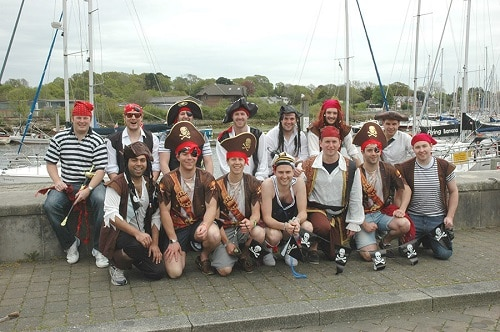 Stag do costumes - Pirates