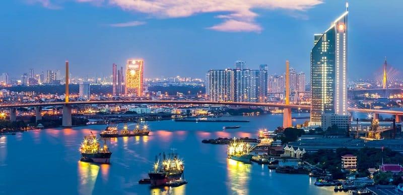 Thailand Skyline