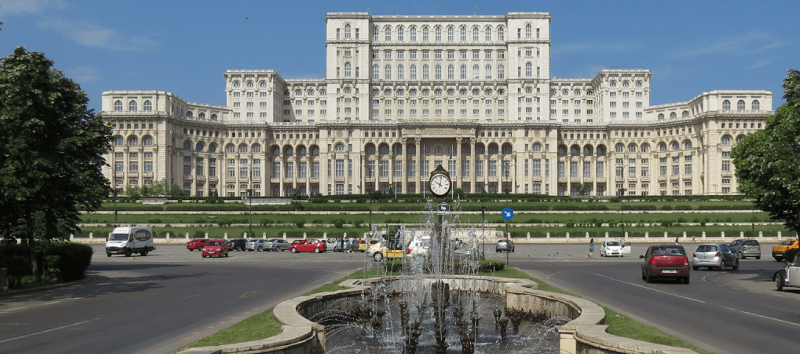 Bucharest Parliament by Day