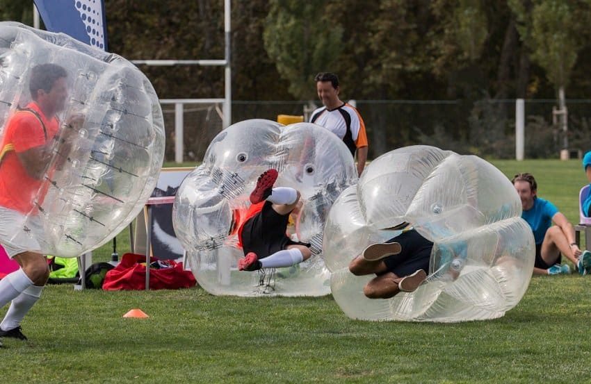 Bubble Football (indoor/outdoor)