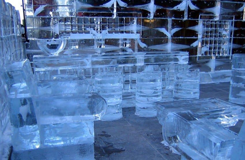 Booze Night – Ice Bar VODKA shots