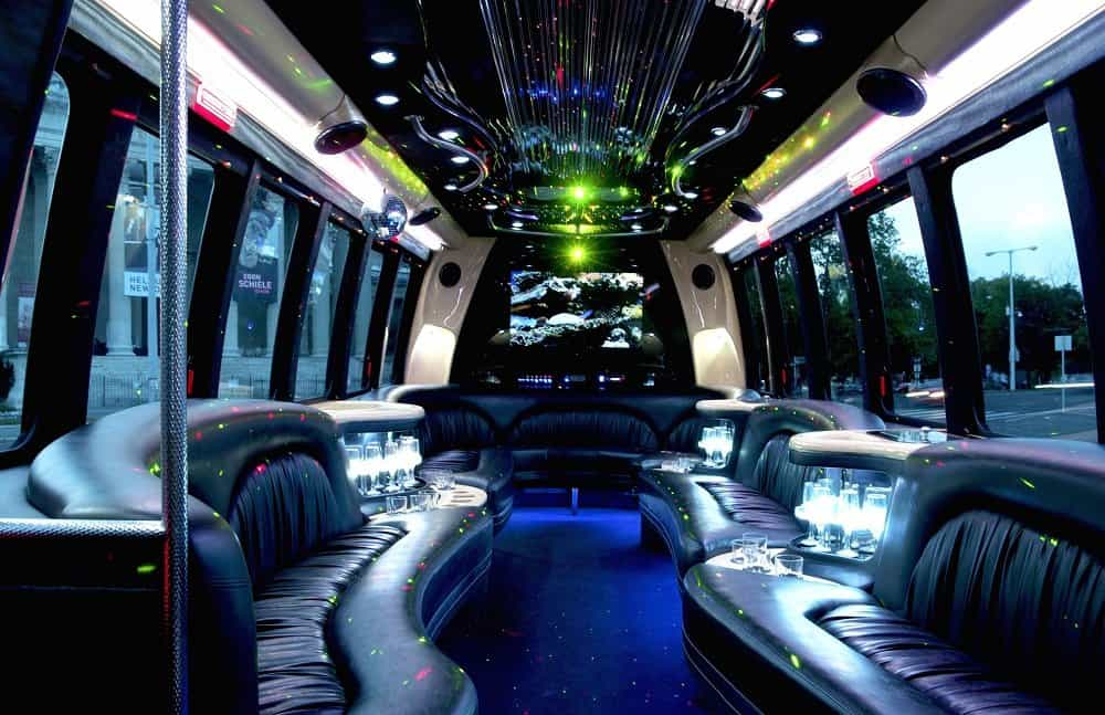 Party Bus With Stripper and Topless Waitress