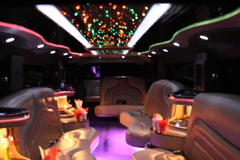 Night Hummer Limousine Cruise with Optional Strip Club Entry