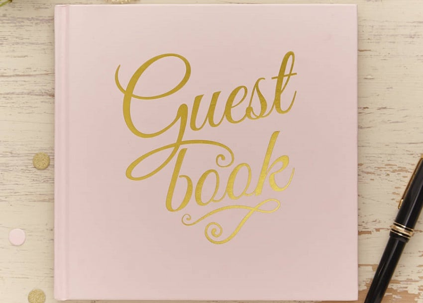 What are you going to say in the Wedding Guestbook?