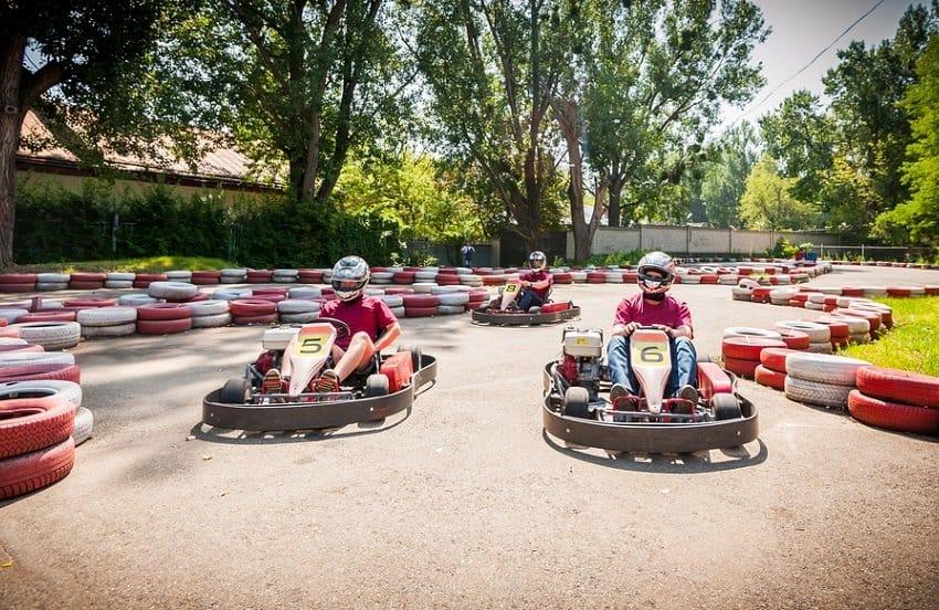 Outdoor Go Karting